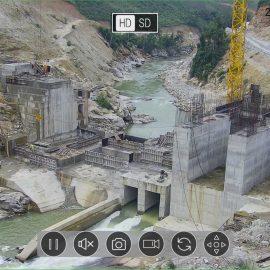 Lắp đặt camera giám sát công trường thủy điện Nhạn Hạc