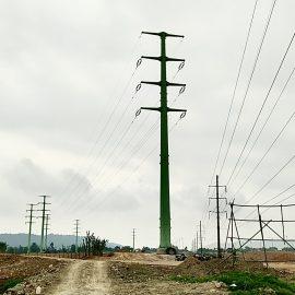 Di dời đường điện 110KV phục vụ thi công dự án Vinh Heritage